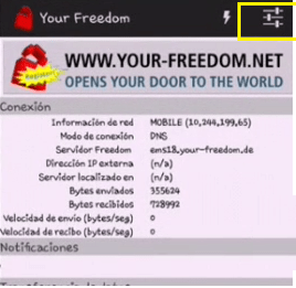conectar your freedom ilimitado gratis internet android