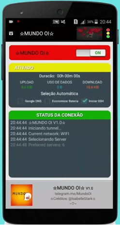 psiphon oi brasil internet gratis android