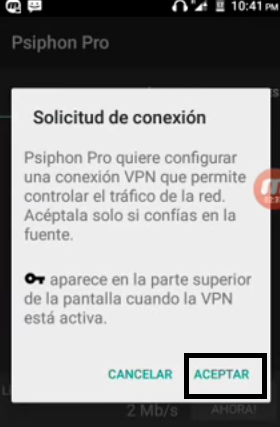 internet gratis youtube ilimitado gratis full HD con psiphon pro en Claro Colombia