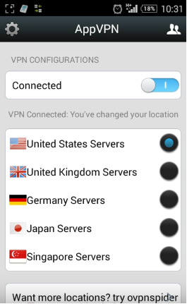 app vpn internet colombia android
