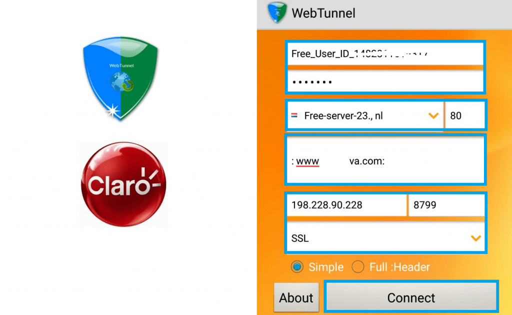 descargar web tunnel apk internet gratis android vpn