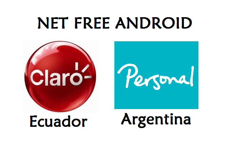 tener net free android claro personal