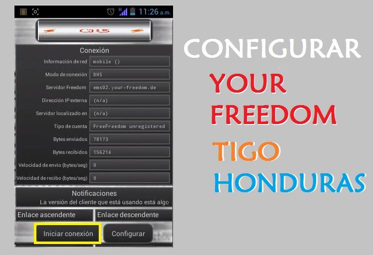 como configurar your freedom 2017 ilimitado