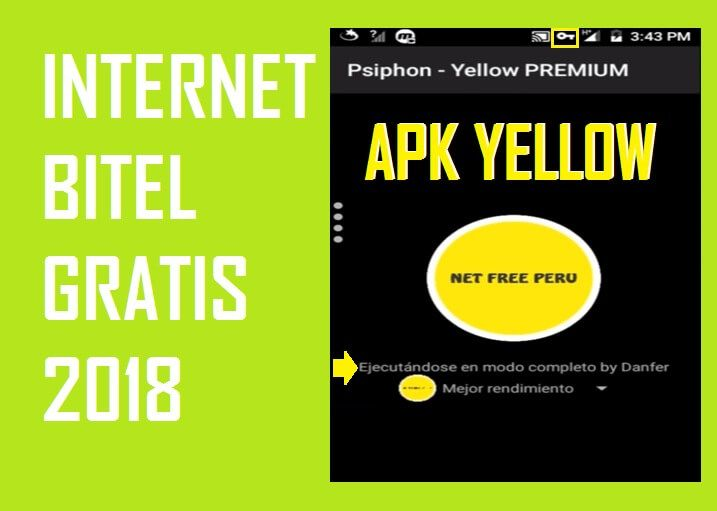 apk yellow vpn bitel internet gratis