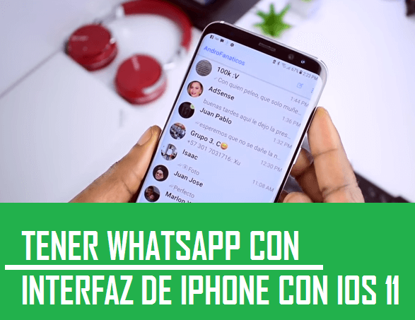 instalar whatsapp de iphone en android igual estilo