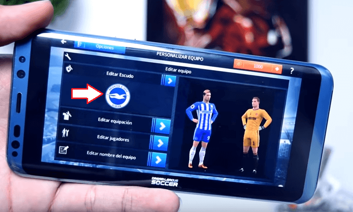 poner nuevo kits dream league soccer 2018 apk game