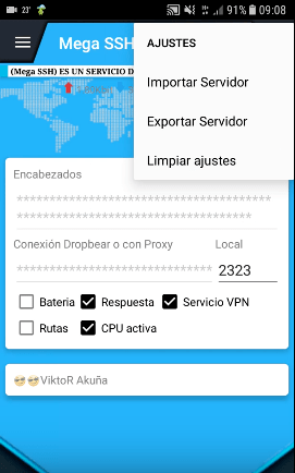 bajar server mega ssh vpn para android 2018