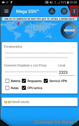 descargar server claro para mega ssh apk