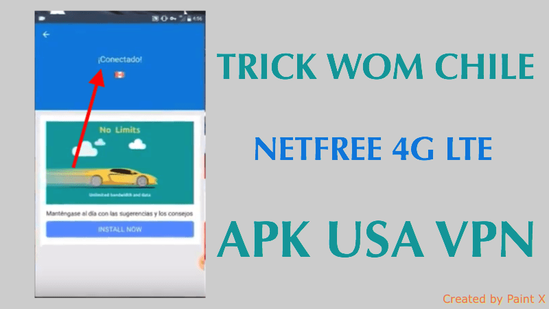netfree wom chile 2018 apk usa vpn free internet gratis