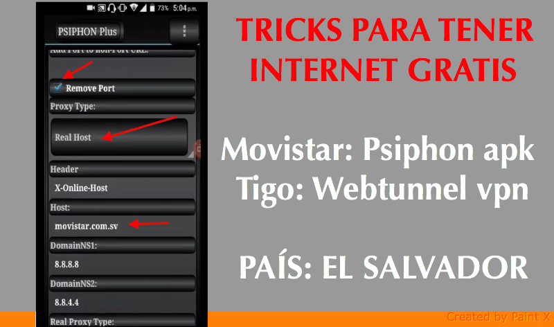 tricks movistar tigo el salvador sv 2018 android netfree