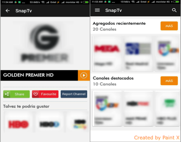 descargar snap tv app android tv box pc iphone