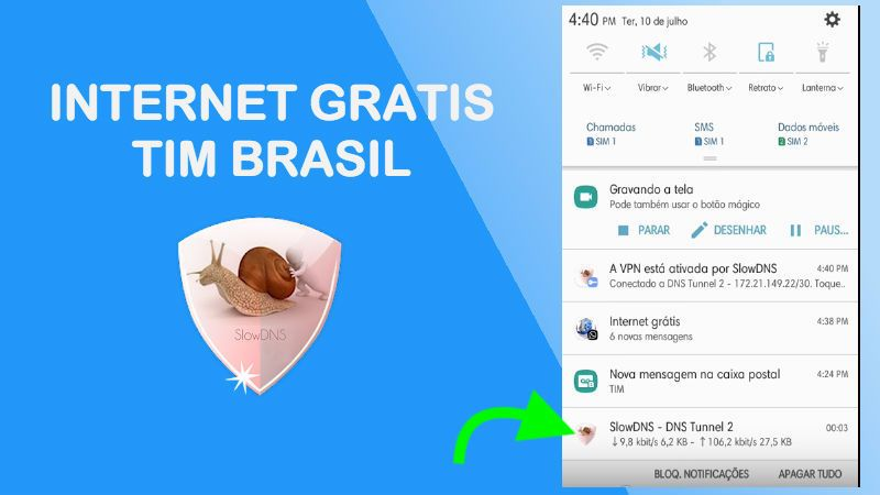 internet gratis da tim brasil 2018 slowdns vpn apk trick server